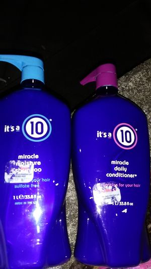 It's a 10 miracle moisture shampoo in conditioner 33.8 oz bottles for Sale in Renton, WA