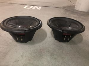 2 Pioneer TSW311D4 12- Inch. 1400 Watt Dual Voice Coil DVC Subwoofers for Sale in San Diego, CA