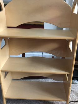Stackable Kids Bookcase Heavy and Wood Made for Sale in Sammamish,  WA