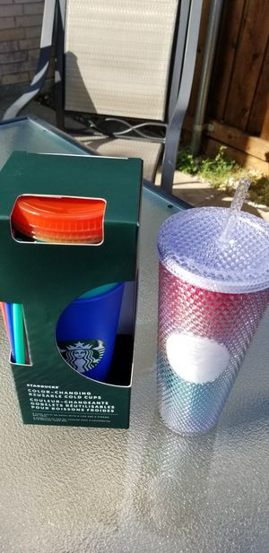 New STARBUCKS Pride Tumbler/Cup Spring Studded Rainbow 2020 for Sale in Flower Mound, TX