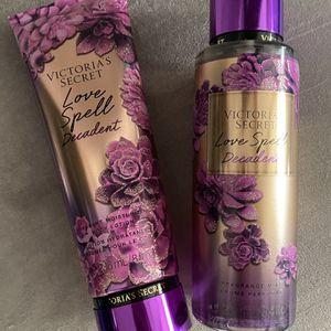 Love Spell By Victoria Secret New Pick Up At Timber Dr Garner for Sale in Garner, NC