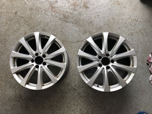 "Two Mercedes S-Class 18"" Original Rims for Sale in Fairfield, CT"