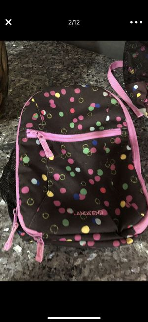 Kids landsend lunchbox excellent condition for Sale in Poway, CA