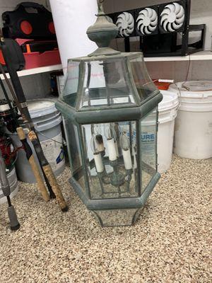 Wrought iron chandelier for Sale in Rancho Santa Margarita, CA