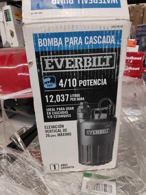 Everbilt waterfall pump for Sale in El Monte, CA