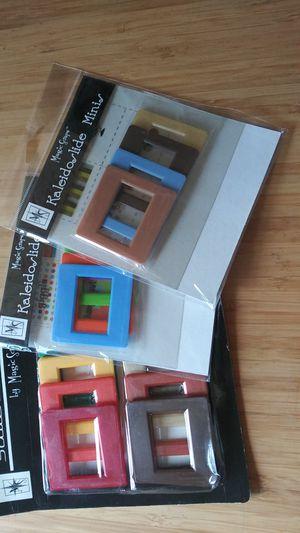 3 packs of Scrapbook Embellishment Negatives Slides for Sale in Everett, WA