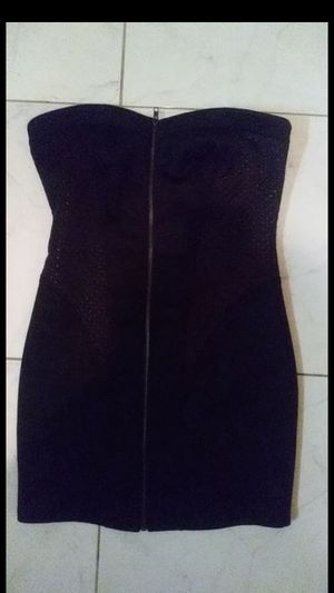 Bebe strapless dress size M never worn for Sale in Miami, FL