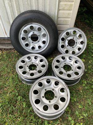 Suzuki Sidekick Geo Tracker Wheels 5 x 5.5 for Sale in Aloma, FL