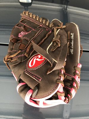 Girls Fast Pitch Leather Softball Glove 11 inch for Sale in Encinitas, CA