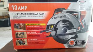 Black and Decker laser circular saw for Sale in Sterling, VA