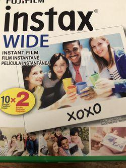 Fuji Instax Wide Film for Sale in Stockton,  CA