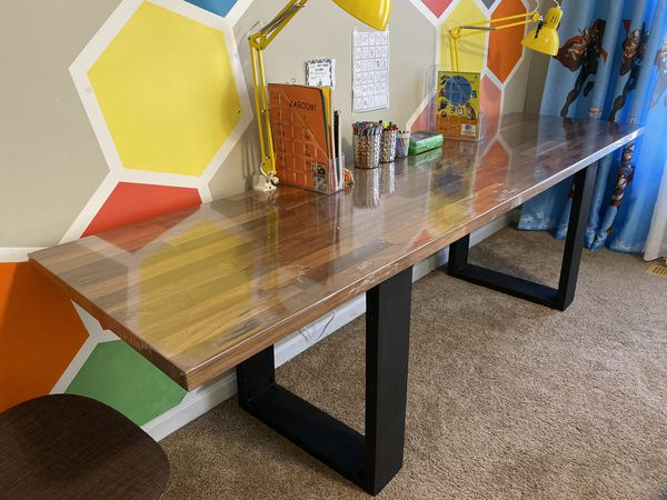 Large kraft table