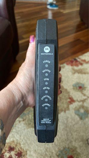 Motorola modem for Sale in Layton, UT