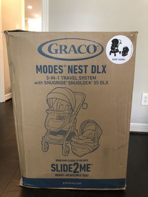 Graco Modes Nest Car Seat & Stroller for Sale in Humble, TX