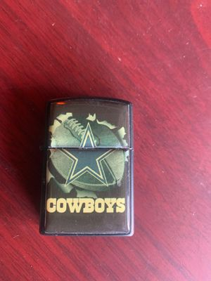 Cowboys zippo lighter for Sale in Rancho Cucamonga, CA