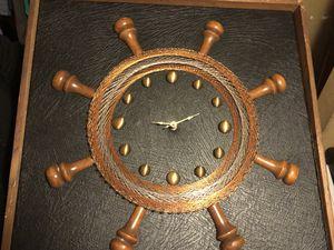 Antique Copper Webbed Nautical Clock for Sale in Tampa, FL