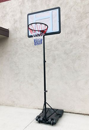 "New $65 Junior Kids Sports Basketball Hoop 31x23"" Backboard, Adjustable Rim Height 5' to 7' for Sale in Montebello, CA"