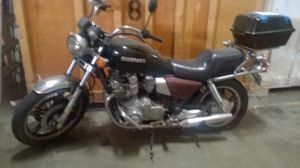 1982 Black Suzuki motorcycle GS 850 with new exhaust part for Sale in Mukilteo, WA
