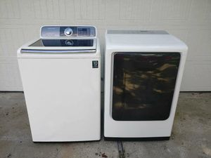 Samsung HE Electric Washer & Dryer for Sale in Houston, TX