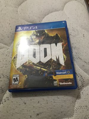Doom for PS4 game for Sale in San Antonio, TX