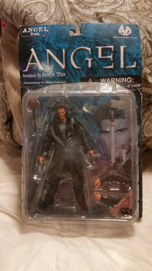 """*reduced price*VAMPIRE ANGEL Exclusive 6"""" Action Figure - Buffy, David Boreanaz [Toy] for Sale in South Attleboro, MA"""