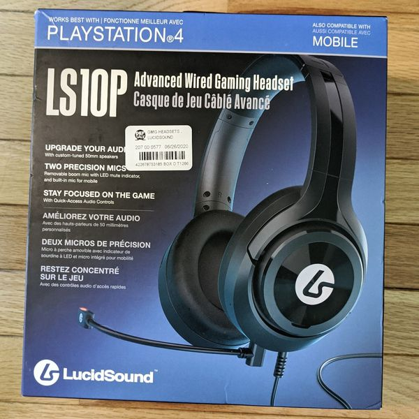 New PlayStation 4 Gaming Headset LS10P