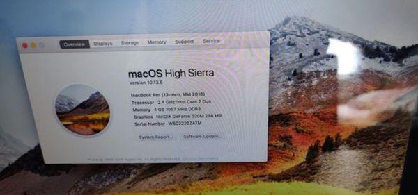"""2010 MacBook Pro 13"""""""