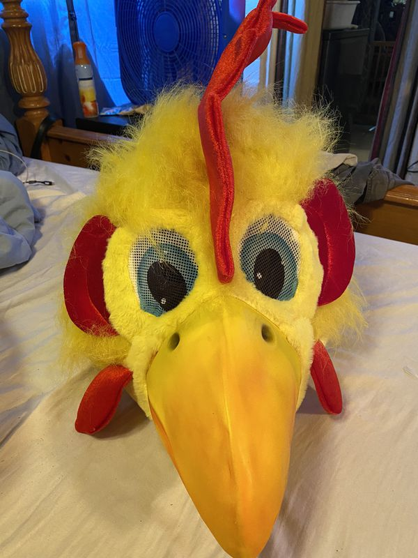 Oversized Chicken Head many laughs $15
