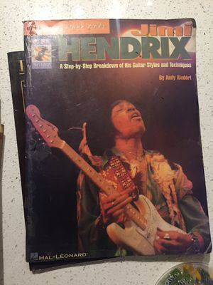 Jimmy Hendrix and Black Sabbath guitar books for Sale in Tempe, AZ