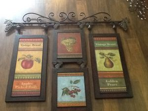 Vintage Wall Decor Grouping for Sale in Lexington, NC