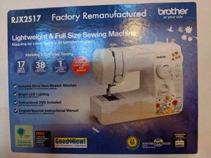 Brother Lightweight & full size sewing machine RJX2517 for Sale in Cleveland, OH