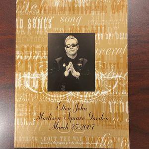 Elton John's 60th Birthday & 60th Sold Out Concert Program for Sale in Villa Park, IL