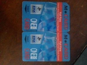 One ride bus passes for Sale in Fresno, CA