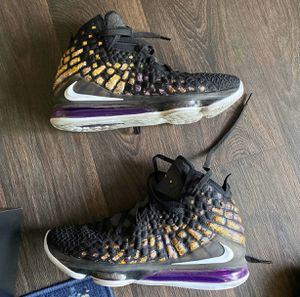 Lebron 17 (Lakers) for Sale in Indianapolis, IN