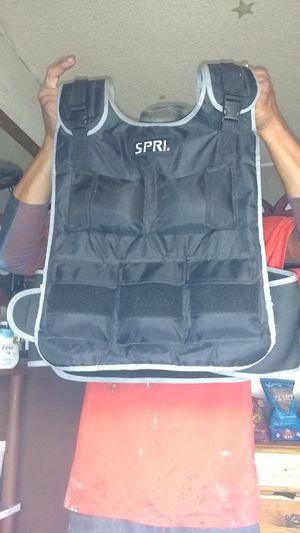 Spri weight vest for Sale in Fresno, CA
