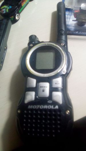 MOTOROLA 2-WAY radio as is no charger for Sale in Lodi, CA