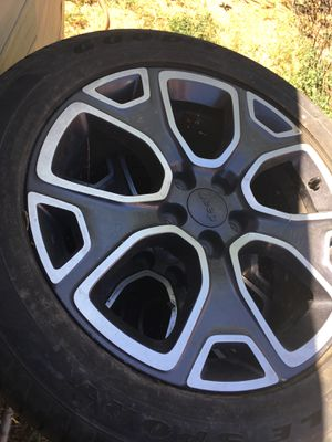 Jeep renegade rims/wheels for Sale in Lathrop, CA