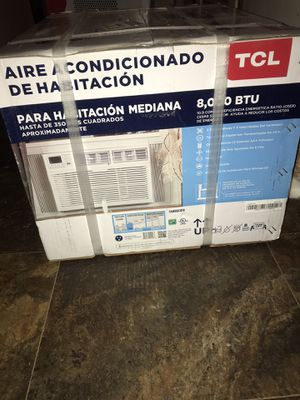 Never been used still in the box UNOPENED 8000 btu Window AC unit for Sale in Crete, IL