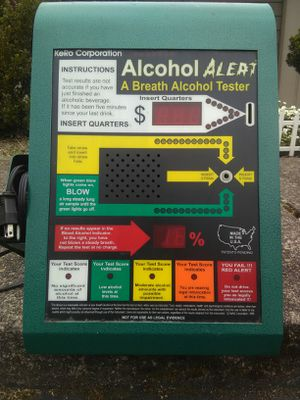 Breathalyzer Vending Machine for sale   Only 2 left at -70%