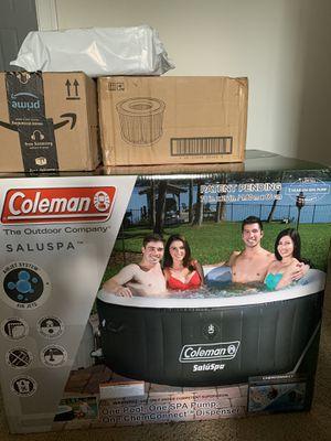 Coleman saluspa hot tub for Sale in Charlotte, NC