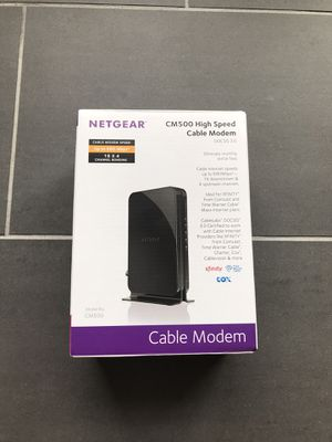 Cox Netgear modem for Sale in Phoenix, AZ