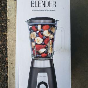 New Chefman Blender 50 oz Glass Jar ice smoothie fruit juice mixer maker for Sale in Westminster, CA