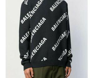 Balenciaga Sweater All Over Balck for Sale in Pasadena,  CA