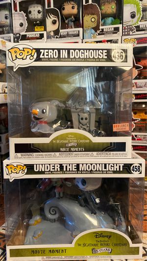 Nightmare Before Christmas movie moments by Funko for Sale in Las Vegas, NV