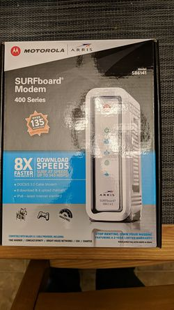 Motorola Arris SB6141 cable modem for Sale in Portland,  OR