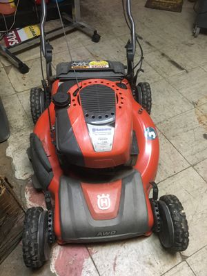 Husqvarna all wheel drive lawn mower for Sale in Fort Worth, TX