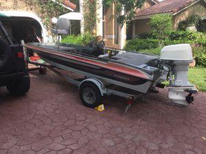 16' Stratos Bass Boat for Sale in Pompano Beach, FL