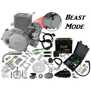 Beast mode 70cc electric start bicycle motor kit for Sale in Lake Elsinore, CA