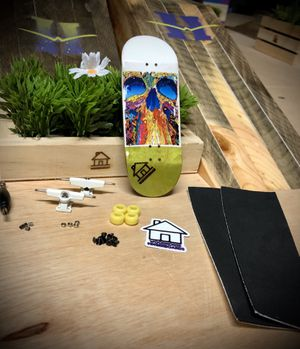 """WoodHouse Fingerboards complete """"skull of color"""" for Sale in Laguna Hills, CA"""