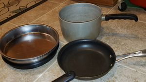 pots n pans and bowls for Sale in Beaverton, OR